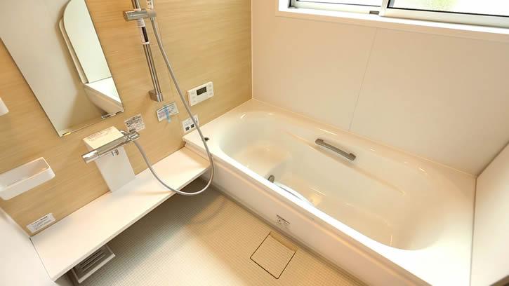 新築お風呂1