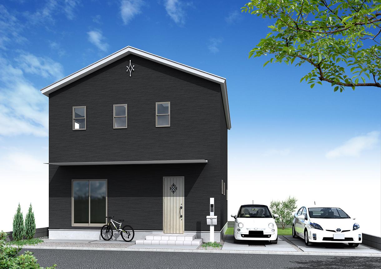 30坪新築住宅外観